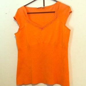 Size Large. Cato short sleeve blouse.